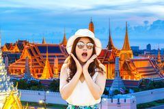 Free Close Up Portrait Young Asian Woman Beautiful Girl With Long Red Hair Looking Excited Holding Her Mouth Opened Amazing Thai Cultur Stock Photo - 107891550