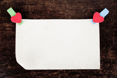 Close up of post it reminders. Royalty Free Stock Photos
