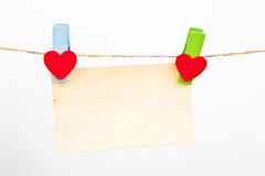 Close up of post it reminders. Royalty Free Stock Photo
