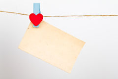 Close up of post it reminders. Royalty Free Stock Image