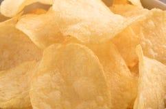 Close up Potato chips Stock Image