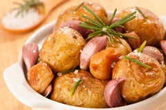 Close Up Potatoes Royalty Free Stock Photos