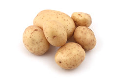 Close up of potatoes Stock Photo
