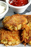 Close up Potatoes croquettes Royalty Free Stock Images