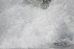 Close up of pounding Pacific surf Royalty Free Stock Images