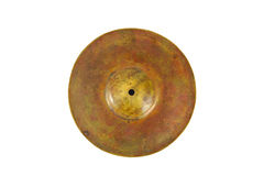 Close up of an prcussion cymbals Royalty Free Stock Images