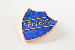 Close Up Prefect Badge Royalty Free Stock Photo