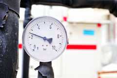 Manometer working status Stock Photography