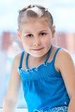 Close-up pretty girl portrait Stock Image