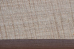 Close up of pretty grain details on wood block Royalty Free Stock Images