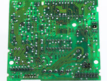 Printed circuit board. Close up of  printed circuit board Royalty Free Stock Image