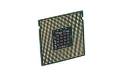 Close-up of a processor Stock Images