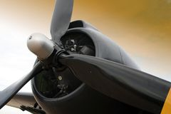 Close-up of a Propeller Royalty Free Stock Photos