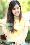 Close up protrait yong girl Royalty Free Stock Photos
