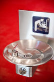 Close up of a public water fountain Royalty Free Stock Images