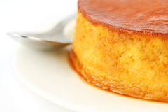 Close up of pudding Royalty Free Stock Images