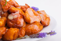 Close up of Pumpkin fritters Stock Image