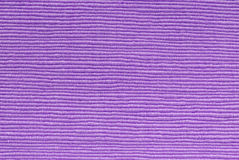 Purple  fabric texture Stock Image