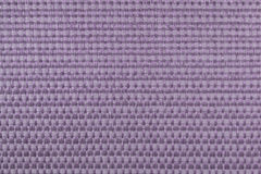 Close Up Purple Woven Textile Background Stock Image