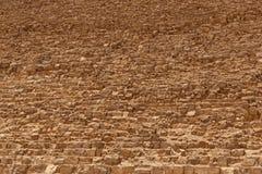 Close up of pyramid of Khafre. Stony background: close up of pyramid of Khafre Stock Photography