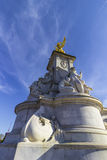 Close up of the Queen Victoria Memorial in London. Close up of the Memorial of Quen Victoria in The Mall street in front of Buckingham Palace in London Stock Images