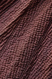 Close-up of the quilted cotton cloth Royalty Free Stock Images