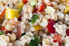 Close Up Quinoa Salad Royalty Free Stock Photo