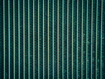 Close up of radiator in cross process style, background. Royalty Free Stock Image