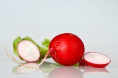Close up of radish and radish slices Stock Photography