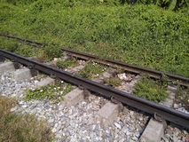 Old railway track. royalty free stock images