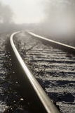 Close up of railway track Stock Photography
