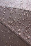 Close up rain drops on umbrella. Royalty Free Stock Photos