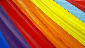 Close up of rainbow spinnaker Stock Images