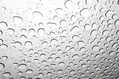 Close-up of raindrops Royalty Free Stock Image