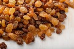 Close up of raisins heap Stock Photography