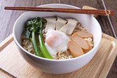 Close up Ramen with studio light Royalty Free Stock Photography