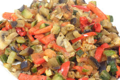 Close up of ratatouille Stock Photography