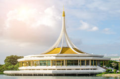 Close up ratchamangkala Pavilion in The Suan Luang RAMA IX publi Royalty Free Stock Photo