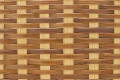 Close up of rattan wicker basket Royalty Free Stock Photography