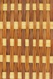 Close up of rattan wicker surface Royalty Free Stock Images