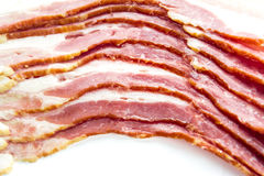 Close up raw bacon Royalty Free Stock Photography