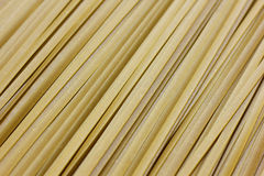 Close up of raw pasta, Green Spanich fettuccine Stock Images