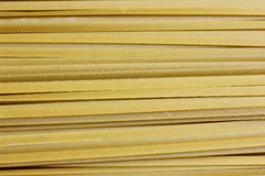 Close up of raw pasta, Green Spanich fettuccine Stock Photos