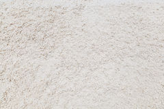 The close up of raw salt in salt field for background Royalty Free Stock Image