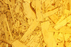 Close up Recycled compressed wood chippings board Stock Photography