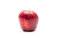 Close up of red apple Stock Photos