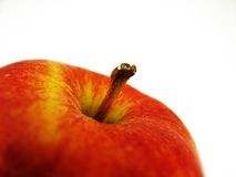 Close up of red apple Stock Image
