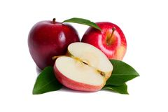 Free Close-up Red Apple Isolate On White Background. Stock Image - 142590761