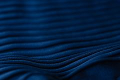 Close Up Red and Blue Fabric texture of woman clothes, Selective royalty free stock image