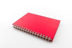 Close up Red book. Stock Photos